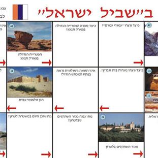 משחק קבוצתי, לימוד משותף וחוויתי, לימוד פרטני. בואו לטייל בשביל ישראל לכיתות ה-יב