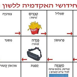 חידושי אקדמיה ללשון בעברית 2.משחקים לימודיים קבוצתיים וגם ללימוד פרטי